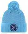 New York City FC Adidas MLS 2017 Authentic Cuffed Knit Hat with Pom