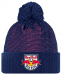 New York Red Bulls Adidas MLS 2017 Authentic Cuffed Knit Hat with Pom