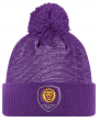 Orlando City SC Adidas MLS 2017 Authentic Cuffed Knit Hat with Pom