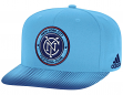 New York City FC Adidas MLS Sublimated Dot Embroidered Snap Back Hat