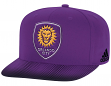 Orlando City SC Adidas MLS Sublimated Dot Embroidered Snap Back Hat