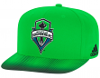 Seattle Sounders Adidas MLS Sublimated Dot Embroidered Snap Back Hat