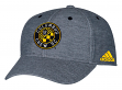 Columbus Crew Adidas MLS Heather Gray Tri-Blend Structured Adjustable Hat