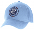 "New York City FC Adidas MLS ""Team Basics"" Structured Adjustable Hat - Light Blue"