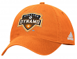 "Houston Dynamo Adidas MLS ""Team Basics"" Slouch Adjustable Hat - Orange"