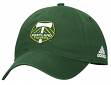 "Portland Timbers Adidas MLS ""Team Basics"" Slouch Adjustable Hat - Green"