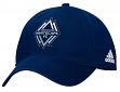 "Vancouver Whitecaps Adidas MLS ""Team Basics"" Slouch Adjustable Hat - Navy"