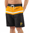 "Pittsburgh Pirates MLB G-III ""Breaking Waves"" Men's Boardshorts Swim Trunks"