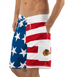 "Chicago Blackhawks NHL G-III ""Americana"" Men's Boardshorts Swim Trunks"