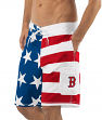 "Boston Red Sox MLB G-III ""Americana"" Men's Boardshorts Swim Trunks"