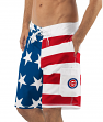 "Chicago Cubs MLB G-III ""Americana"" Men's Boardshorts Swim Trunks"