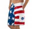 "Golden State Warriors NBA G-III ""Americana"" Men's Boardshorts Swim Trunks"