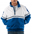 "Los Angeles Dodgers MLB Starter ""Academy"" 1/2 Zip Pullover Embroidered Jacket"