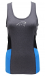 "Carolina Panthers Women's G-III NFL ""Strength"" Workout Racerback Tank Top Shirt"
