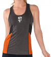 San Francisco Giants Women's G-III MLB Strength Workout Racerback Tank Top Shirt