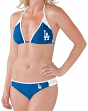 "Los Angeles Dodgers Women's G-III MLB ""Outfielder"" 2 Piece Bikini Set"