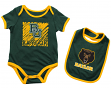 "Baylor Bears NCAA Infant ""Look at the Baby"" Onesie w/Bib Set"