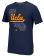 "UCLA Bruins Adidas NCAA ""Geometric"" Men's Climalite S/S T-Shirt"