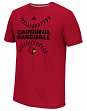 "Louisville Cardinals Adidas NCAA ""Big Stitches"" Men's Climalite S/S T-Shirt"