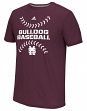 Mississippi State Bulldogs Adidas NCAA Big Stitches Men's Climalite S/S T-Shirt