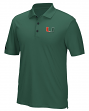 "Miami Hurricanes Adidas NCAA Men's ""Performance"" Climacool Polo Shirt"
