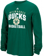 "Milwaukee Bucks Adidas NBA ""Rep Big"" Men's Long Sleeve T-Shirt"