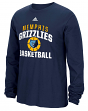 "Memphis Grizzlies Adidas NBA ""Rep Big"" Men's Long Sleeve T-Shirt"