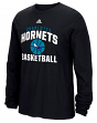 "Charlotte Hornets Adidas NBA ""Rep Big"" Men's Long Sleeve T-Shirt"