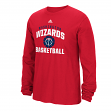 Washington Wizards Adidas NBA Rep Big Men's Long Sleeve T-Shirt