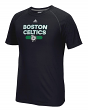 "Boston Celtics Adidas NBA ""Reflective Authentic"" Men's Climalite S/S T-Shirt"