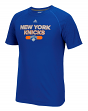 "New York Knicks Adidas NBA ""Reflective Authentic"" Men's Climalite S/S T-Shirt"