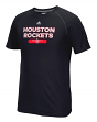 "Houston Rockets Adidas NBA ""Reflective Authentic"" Men's Climalite S/S T-Shirt"