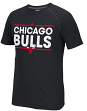 "Chicago Bulls Adidas NBA ""Dassler"" Men's Climalite S/S T-Shirt"
