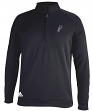 "San Antonio Spurs Adidas NBA Men's ""Piped"" Climalite 1/4 Zip Pullover Sweatshirt"