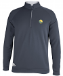 "Golden State Warriors Adidas Men's ""Piped"" Climalite 1/4 Zip Pullover Sweatshirt"
