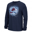"Colorado Avalanche Reebok NHL ""Encased In Ice"" Long Sleeve Men's T-Shirt"