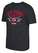 "New Jersey Devils CCM NHL ""Even Strength"" Tri-Blend Men's Short Sleeve T-Shirt"