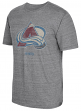 "Colorado Avalanche CCM ""Bigger Logo"" Distressed Premium Tri-Blend T-Shirt"