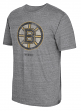 "Boston Bruins CCM ""Bigger Logo"" Distressed Premium Tri-Blend  T-Shirt"