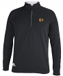 Chicago Blackhawks Adidas NHL Men's Piped Climalite 1/4 Zip Pullover Sweatshirt