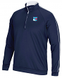 "New York Rangers Adidas NHL Men's ""Piped"" Climalite 1/4 Zip Pullover Sweatshirt"