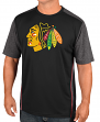 "Chicago Blackhawks Majestic NHL ""Glowing Play"" Men's Performance S/S T-Shirt"