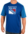 "New York Rangers Majestic NHL ""Glowing Play"" Men's Performance S/S T-Shirt"