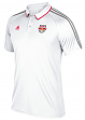 New York Red Bulls Adidas MLS Men's On-Field Coaches Climalite Polo Shirt