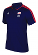 New England Revolution Adidas MLS Men's On-Field Coaches Climalite Polo Shirt