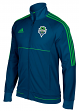 "Seattle Sounders Adidas Men's MLS 2017 ""Anthem"" Sideline Full Zip Jacket"
