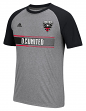 "D. C. United Adidas MLS ""Midfielder"" Men's Climalite S/S T-Shirt"