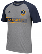 "Los Angeles Galaxy Adidas MLS ""Midfielder"" Men's Climalite S/S T-Shirt"