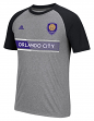 "Orlando City SC Adidas MLS ""Midfielder"" Men's Climalite S/S T-Shirt"
