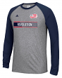 "New England Revolution Adidas MLS ""Midfield"" Men's Climalite L/S T-Shirt"